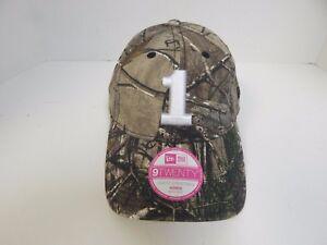 New Era 9Twenty NASCAR WOMEN 1 Real Tree Camo Adjustable Hat - 100% Cotton
