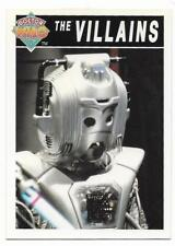 1994 Cornerstone DR WHO Base Card (91) The Villains