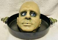 Gemmy Life-Size Uncle Fester Interactive Moaning Halloween Candy Dish Works