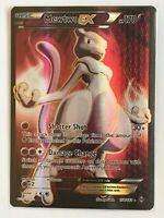 Mewtwo EX FULL ART ULTRA RARE 158/162 Pokemon XY Breakthrough Holo NM