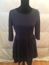 ASOS Women's Blue 3/4 Sleeve Skater Dress Size 10