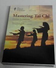 The Great Courses Mastering Tai Chi 4 DVDs Book ~ Brand New Set 24 Lectures ✔