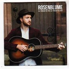 (FY108) Rosenblume, All Through The Fire All Through The Rain - DJ CD