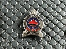 PINS PIN BADGE ARMEE MILITAIRE POLICE CANADA