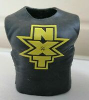 NXT Shirt Vest - Mattel Accessory for WWE Wrestling Figures