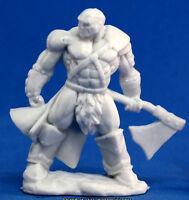 1 x GOLDAR BARBARE - BONES REAPER figurine miniature jdr rpg barbarian 77047