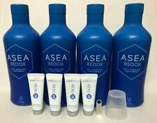 ASEA Water Redox Supplement 4 Bottles + 4 Renu28+USB FreeShipping