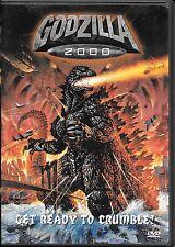 GODZILLA 2000 (DVD) KAIJU!