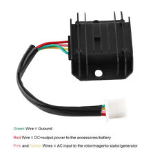 12V 4 Pin Voltage Regulator Rectifier For 150-250CC Motorcycle ATV Bike Moped MS