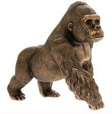 Leonardo Bronze Reflections Gorilla Ape Ornament LP44643 New Range Gift Boxed
