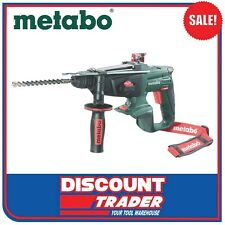 Metabo 18V Lithium-Ion SDS+ 3 Mode Rotary Hammer Drill KHA 18 LTX SK 600210890