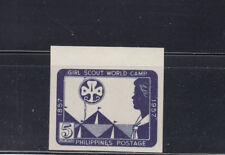 Philippines 1957 Girl Scouts Sc  637a  Complete Mint Never Hinged