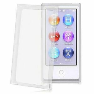 Crystal Clear Transparent Full Hard Cover Case for Apple iPod Nano 7 7th Gen