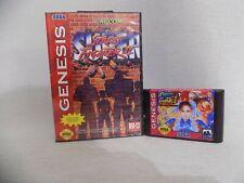 Street Fighter 2  Genesis Mega Drive.