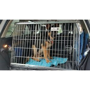Land Rover Freelander 2 Sloping Dog pet puppy travel training cage crate