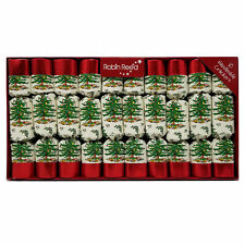 """Robin Reed English Holiday Christmas Crackers Pack of 10 x8.5"""" Spode"""