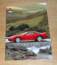 Mitsubishi 3000 GT Brochure 1996 - 3000GT GTO Coupe
