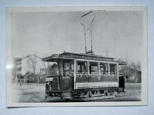 HALLE Germania TRAM tramway Straßenbahn treno vecchia foto 3