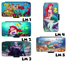 Little Mermaid Ariel Inspired Leather Wallet Phone case For Samsung LG iPhone