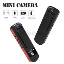 1080P Full HD 180° Mini Camera Audio Video Recording Pen Camcorder MP3 Player