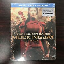 The Hunger Games: Mockingjay, Part 2 (Blu-ray/DVD, 2016, SteelBook Only  Best...