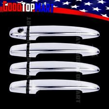 For Toyota HIGHLANDER 2008-2011 2012 2013 Chrome 4 Door Handle Covers w/out PK