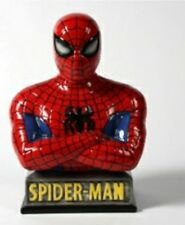 Spiderman Bank Ready to Paint, Unpainted, You Paint Ceramic Bisque