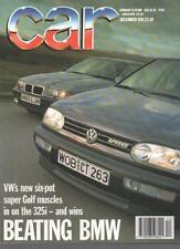 Car Magazine DECEMBER 1991 BEATING BMW  LS