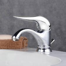 Rubinetto  miscelatore bagno per lavabo monocomando monoforo ottone piletta 1157