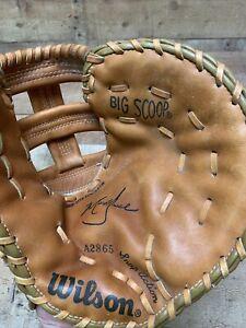"Wilson Big Scoop A2865 11"" Baseball Glove Mark Grace Right Hand Throw RHT"