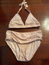 Antonio Melani Mesh Overlay Bikini Set S Bottom and M top