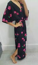 Zara stunning floral print jumpsuit size XS