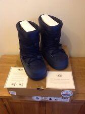 Ugg Australia Girls Noeme Ski Snow Boots Midnight Blue UK 2 EU 33 US 3 NEW