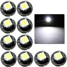 10pcs T4.7 LED 5050 SMD Car Cluster Gauges Lights Bulbs Dash Board 12V White new