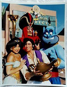 RARE 1993 WDW DISNEY MGM STUDIOS ALADDIN ROYAL CARAVAN PARADE PUBLICITY PHOTO