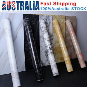 10M Marble Wall Sticker Vinyl Decal Waterproof Self Adhesive Wallpaper PVC Paper