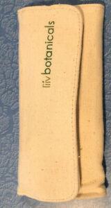 Avon Liiv Botanicals Ceramic Alabaster Mystery Kit Set Canvas Holder