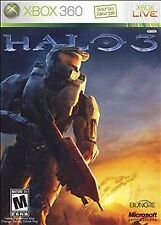 Halo 3 (Microsoft Xbox 360, 2007) Game Platinum