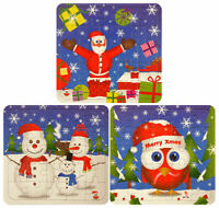 12 Christmas Jigsaw Puzzles - Pinata Toy Loot/Party Bag Fillers Wedding/Kids