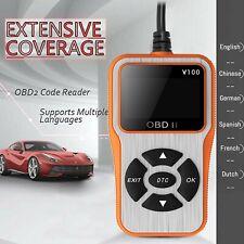 Car OBD2 Scanner Automotive OBDII Fault Code Reader Vehicle Diagnostic Scan Tool