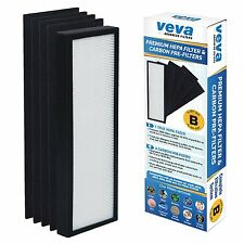 VEVA Advanced Filters Premium Hepa Filter+ 4 Activated Carbon Pre Filters