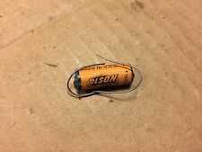 NOS Vintage Olson .001 uf 600v Molded Paper Capacitor Treble Bleed Cap (Qty Avai