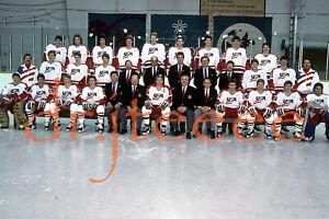 1988 OLYMPICS USA Team Shot - 35mm Hockey Slide