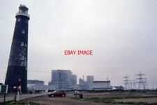 PHOTO  1996 DUNGENESS OLD LIGHTHOUSE AND NUCLEAR POWER STATIONS