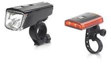 XLC Light Set Titania Batteriebeleuchtung Set Fahrrad Beluchtung Set LED