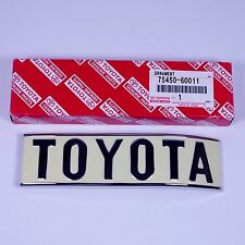 New OEM Toyota Land Cruiser 40 Series BJ40 FJ40 Right Rear Emblem 75450-60011