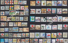 Serbia 2006 - 2019 Complete Years of Surcharge Stamps MNH Michel #1-94