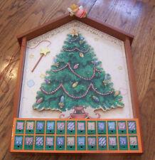 Cherished Teddies Advent Holiday Calendar Very Rare new in Box