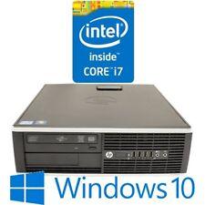 HP Elite 8200 SFF Desktop Core i7 2600 8G 500G DVDRW Windows 10 Pro