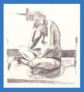 Robert Fawcett - Nude Female Sketch Original Art